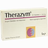Abbildung von Therazym Tabletten 25 Stück