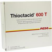 Abbildung von Thioctacid 600 T Ampullen 10 x 24 ml