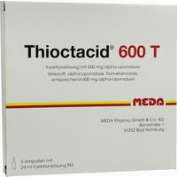 Abbildung von Thioctacid 600 T Ampullen 5 x 24 ml