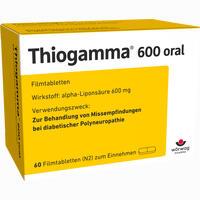 Abbildung von Thiogamma 600 Oral Filmtabletten 60 Stück
