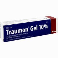 Abbildung von Traumon Gel 10% Gel 50 g