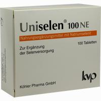 Abbildung von Uniselen 100 Ne Tabletten 1 x 100 Stück