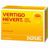 Abbildung von Vertigo Hevert Sl Tabletten 100 Stück