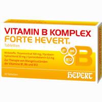 Abbildung von Vitamin B- Komplex Forte Hevert Tabletten 20 Stück