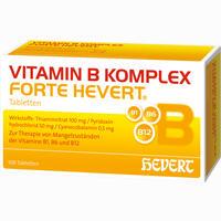 Abbildung von Vitamin B- Komplex Forte Hevert Tabletten 100 Stück