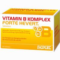 Abbildung von Vitamin B- Komplex Forte Hevert Tabletten 200 Stück