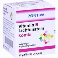 Abbildung von Vitamin B Lichtenstein Kombi Dragees 50 Stück