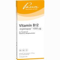 Abbildung von Vitamin B12- Injektopas 1000µg Ampullen 10 x 1 ml