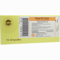 Abbildung von Vitamin B12 Sanum Injektionslösung 10 x 1 ml