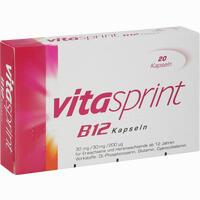 Abbildung von Vitasprint B12 Kapseln 20 Stück