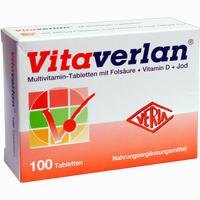 Abbildung von Vitaverlan Tabletten 100 Stück