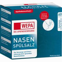 Abbildung von Wepa Nasenspülsalz  60 x 2.95 g