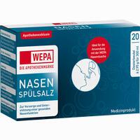 Abbildung von Wepa Nasenspülsalz  20 x 2.95 g