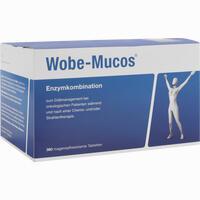 Abbildung von Wobe- Mucos Tabletten 360 Stück