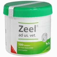 Abbildung von Zeel Ad Us. Vet. Tabletten 500 Stück