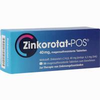 Abbildung von Zinkorotat Pos Tabletten 50 Stück