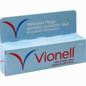 Vionell Intim- Pflege- Salbe » Informationen und Inhaltsstoffe