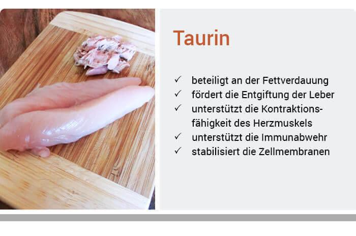 Taurin-Ratgeber  Anwendung & Wirkung